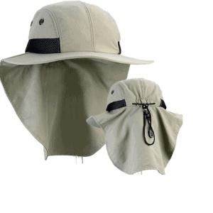 כובע חקלאי כולל מגן עורף דגם 7002