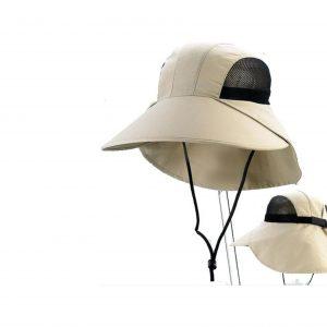 כובע חקלאי כולל מגן עורף דגם 7003