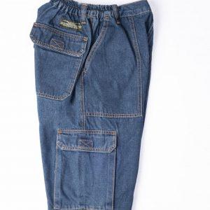 מכנסי דגמח ג'ינס גומי